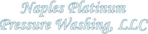 Naples Platinum Pressure Washing Logo | Lee & Collier County Exterior Washing Services