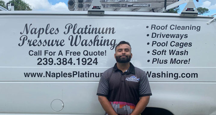 Naples Platinum Pressure Washing Owner Andy