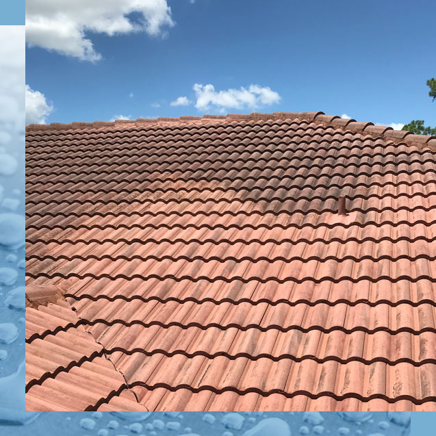 Roof Cleaning Tile Roofs Naples Florida | Naples Platinum Pressure Washing