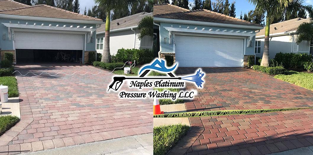 Paver Washings & Sealing Services Naples, Bonita Springs, Estero, Fort Myers | Naples Platinum Power Washing